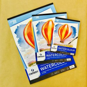 Canson Montval Watercolour Pads 270gsm Rough
