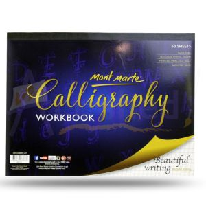 Mont Marte Calligraphy Workbook A4 50 sheet