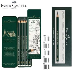 Faber-Castell Jumbo 9000 Pencil Tin 6