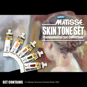 MATISSE STRUCTURE SKIN TONE SET 5 x 75ml