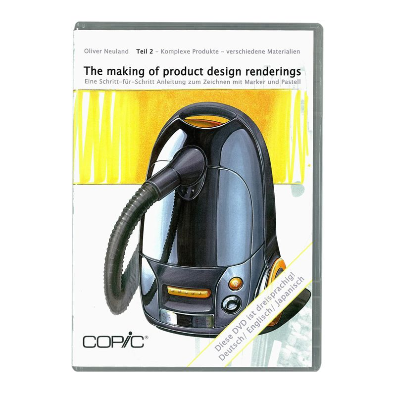 Copic DVD Making Of Product Design Rendering 2