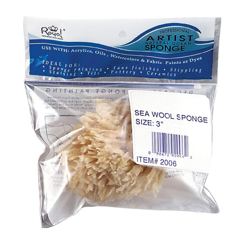 Ocean Sea Sponge Sea Wool 3 in (R2006)