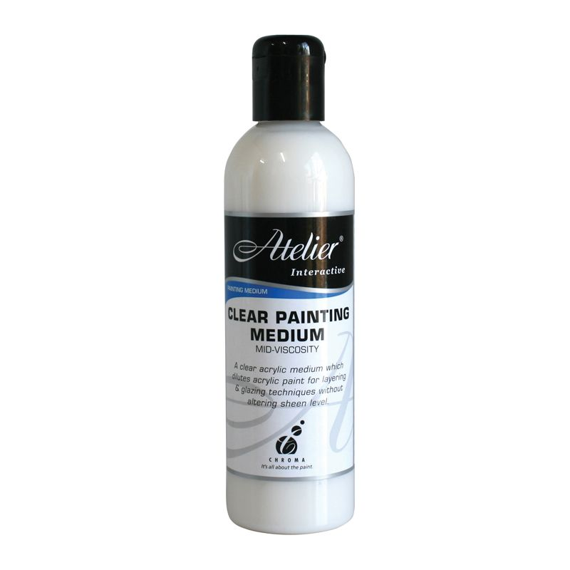 Atelier 250ml Clear Paint Medium