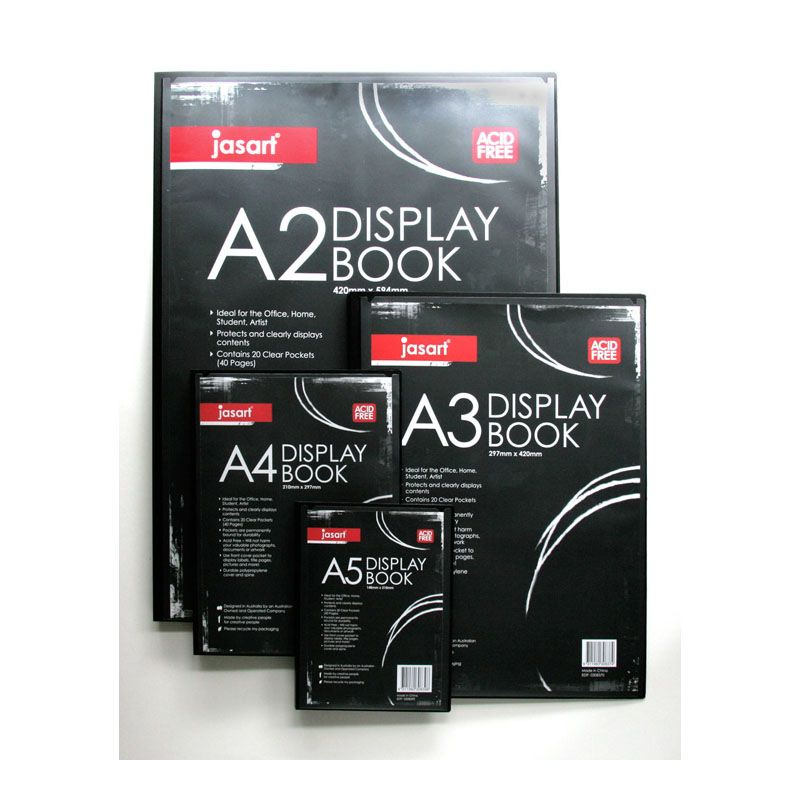 JASART DISPLAY BOOKS
