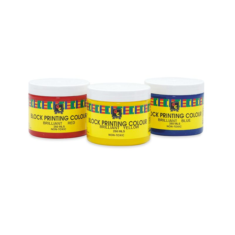 Educational Colours BLOCK PRINTING INKS