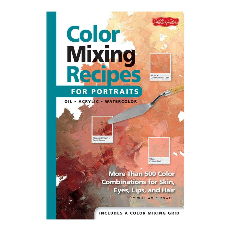 Book - COLOR MIXING RECIPES FOR PORTRAIT