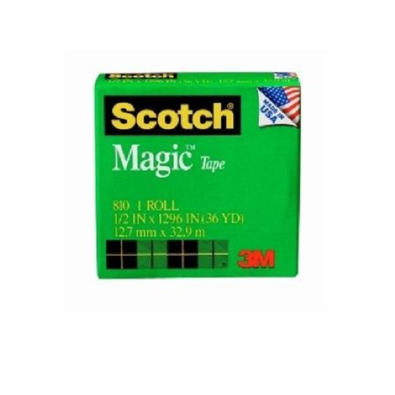 3M Scotch Magic Tape 810 13mm x 33m