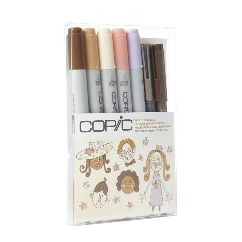 Copic Ciao Doodle Kit People 7pc