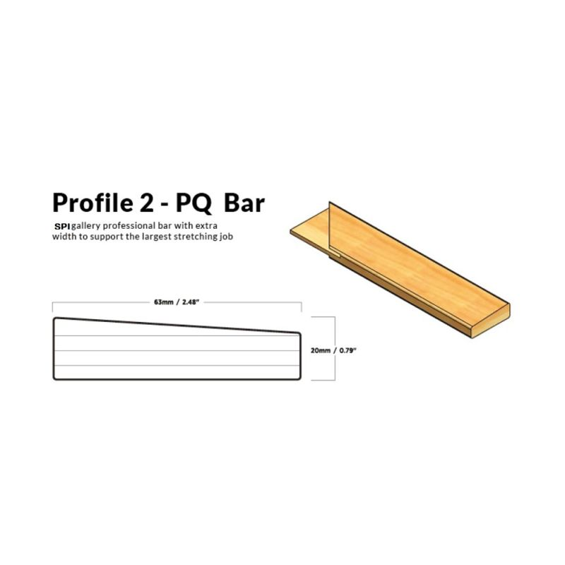 SPI Thin Profile Stretcher Bars