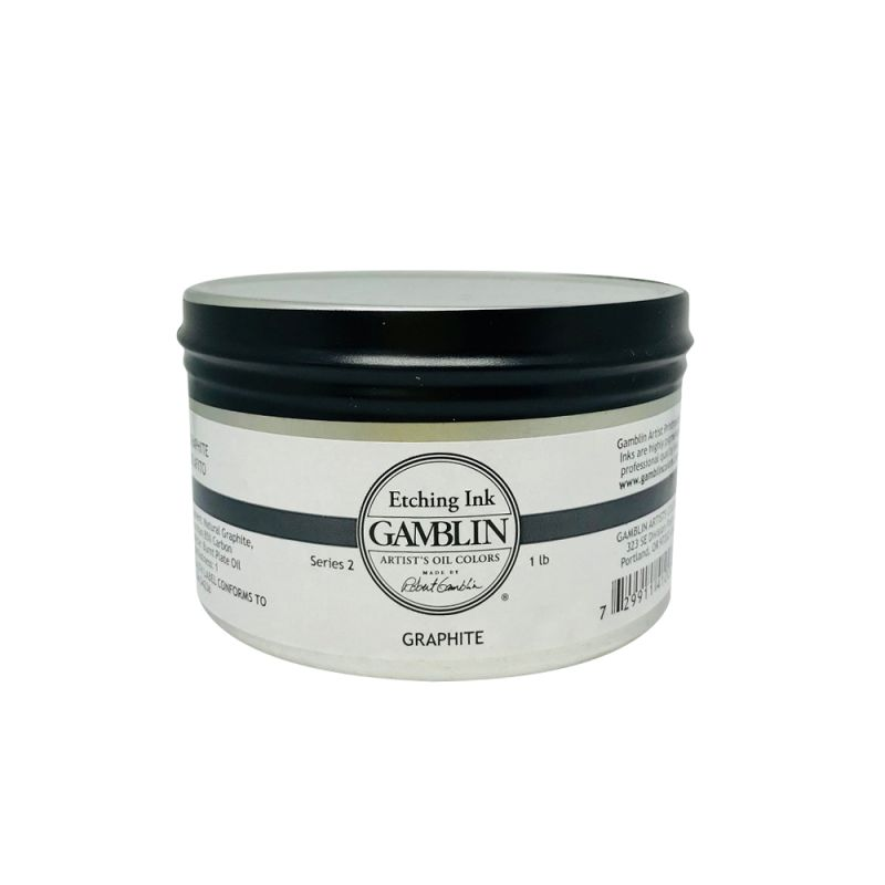 Gamblin Etching Ink 300ml - Graphite