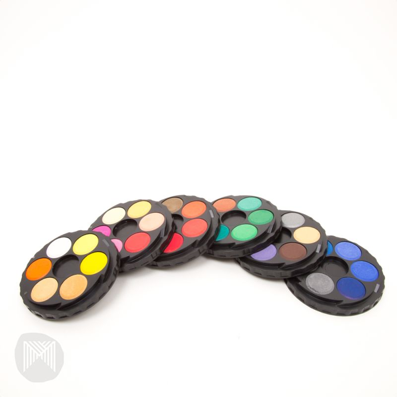 Koh-I-Noor Watercolour Disc - 36 Assorted