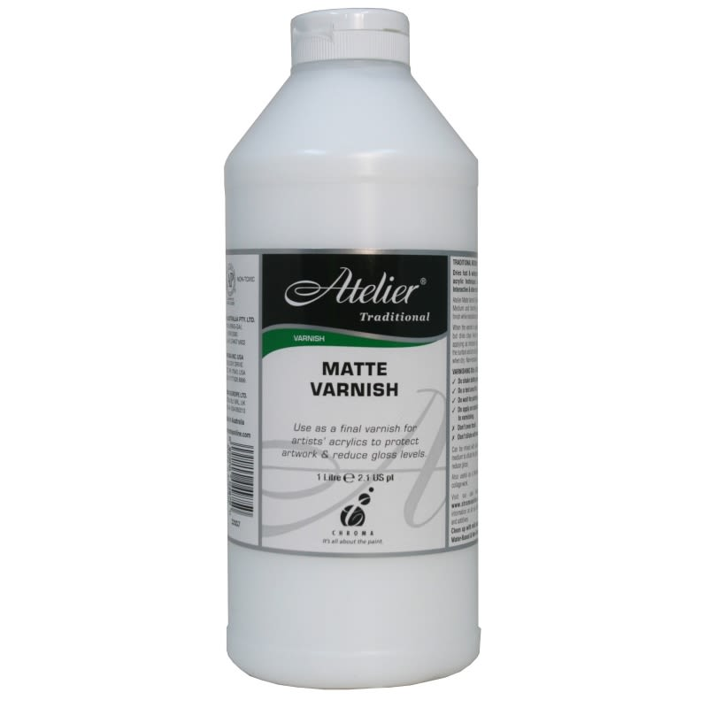 Atelier 1 Litre Matt Varnish