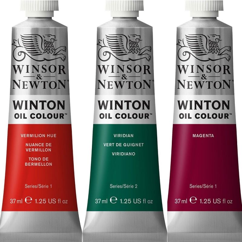 Winsor and Newton Winton Oil Colours 37ml and 60ml