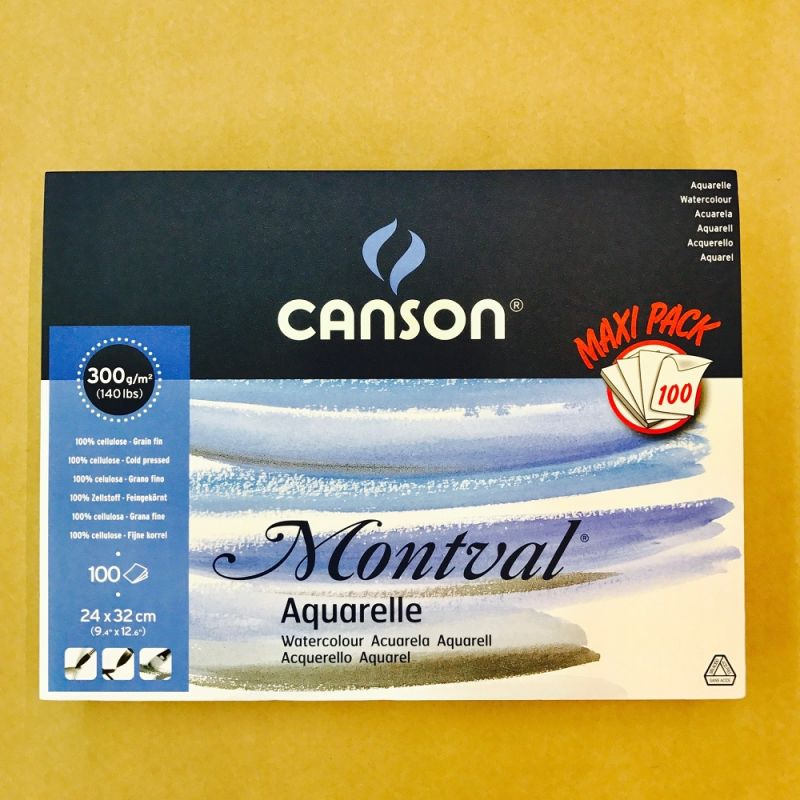 Canson Montval Watercolour MAXI Pads