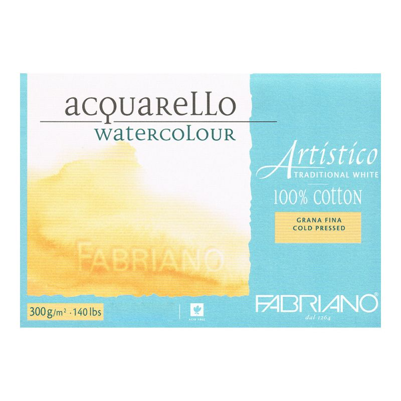 Fabriano Artistico Watercolour Pad 300g Cold Press