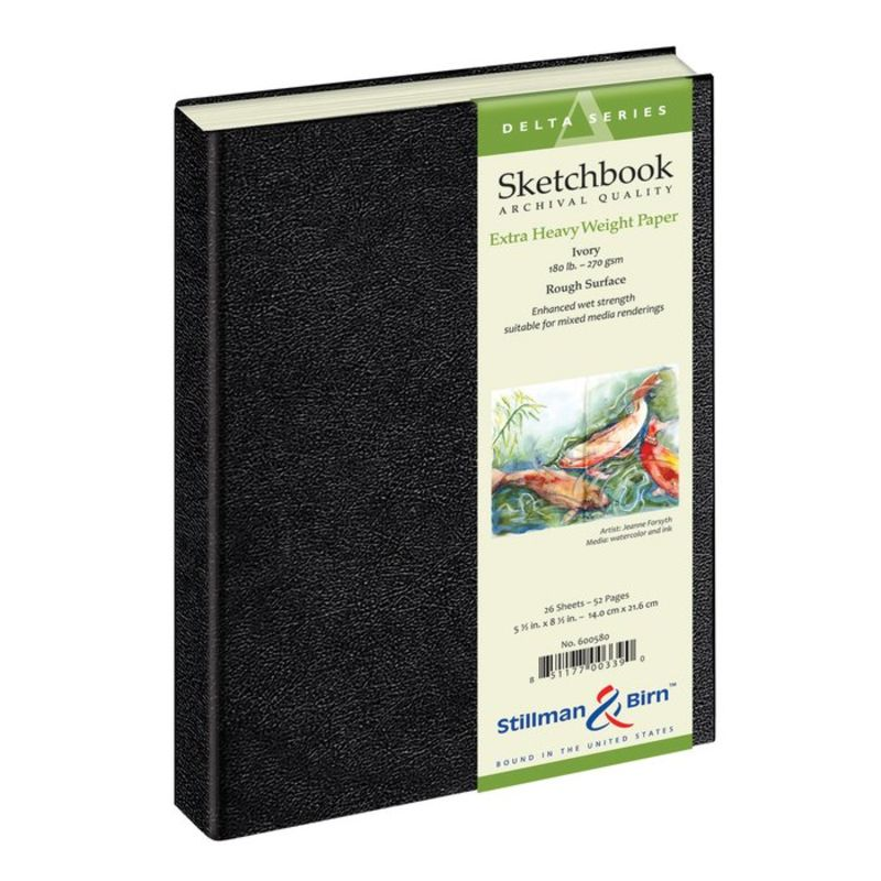 Stillman & Birn Delta Sketchbooks