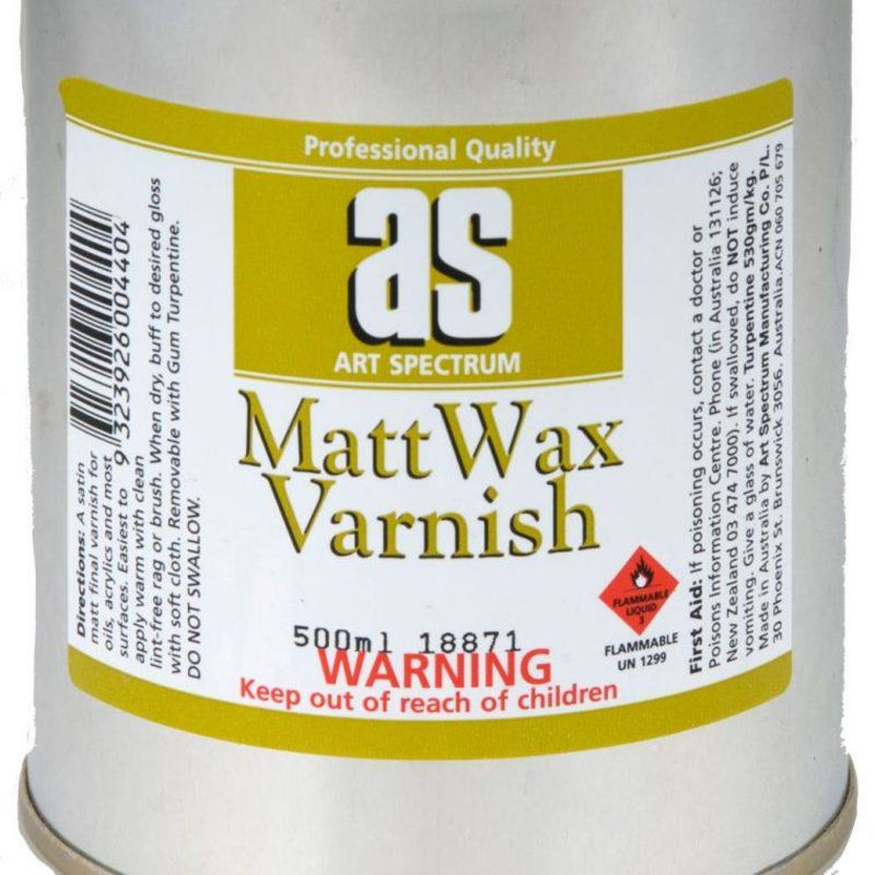 Art Spectrum MATT WAX VARN 250ml
