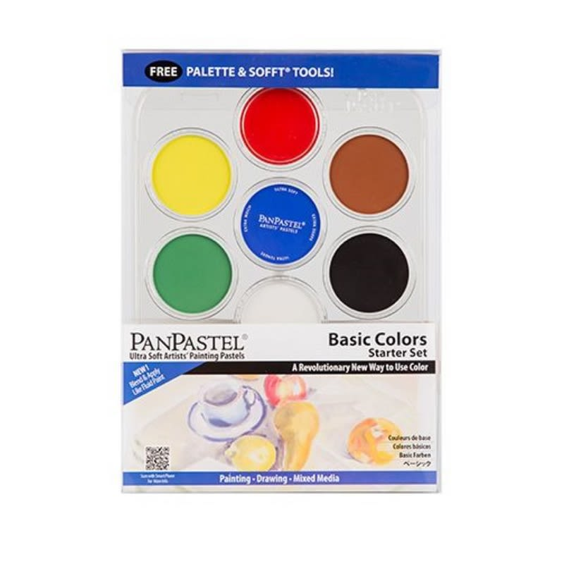 PANPASTEL STARTER SET of 7 - BASIC COLOURS