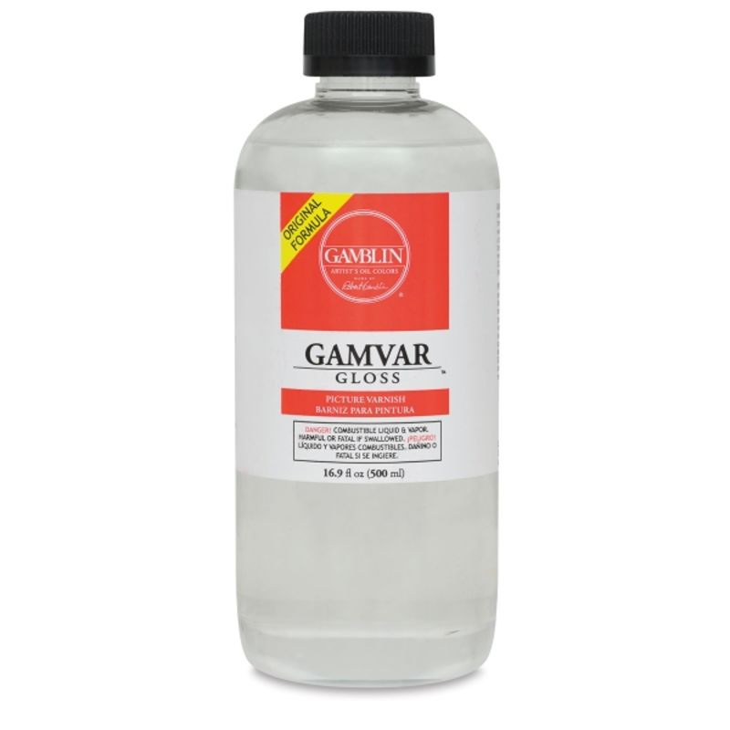 Gamblin Gamvar Picture Varnish 500ml Gloss