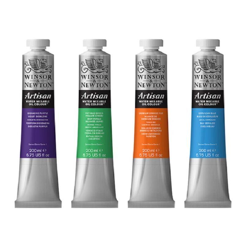 Winsor and Newton Artisan Water Mixable Oils 200ml