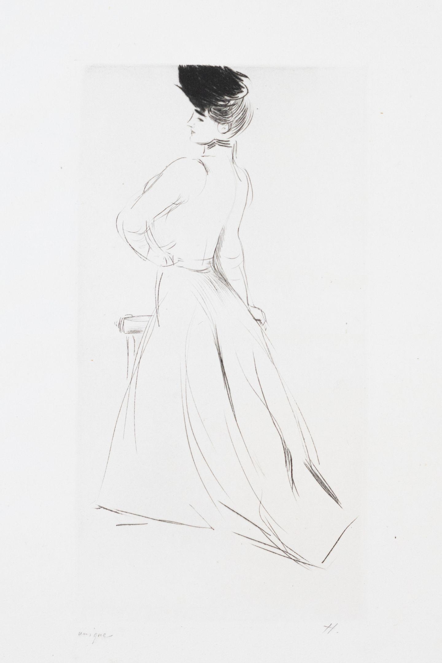 ᐅ Madame Chéruit De Trois Quarts By Paul César Helleu 1900 Print Art Shortlist
