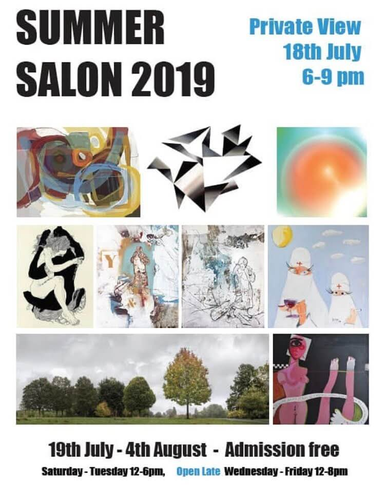Siméon Artamonov at Summer Salon at Candid Art Trust, Angel, London - 18th July to 25th August 2019