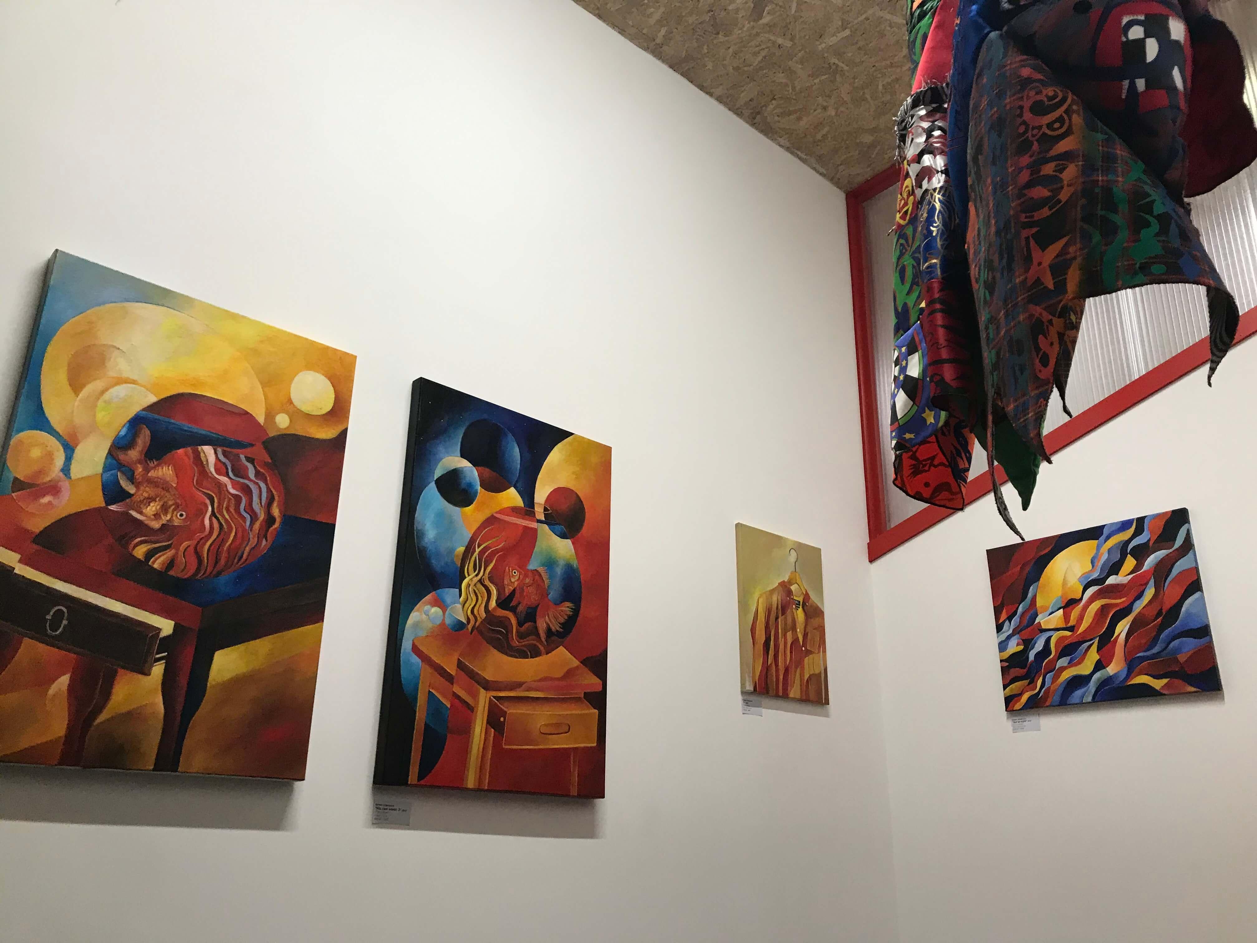 Siméon Artamonov at North London Art -  at Harringay Warehouse District