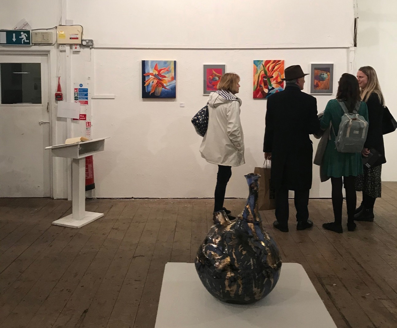 Candid Art Show 2020 exhibition opening