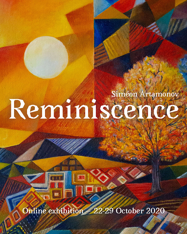 Siméon Artamonov, Reminiscence Poster, with Sevenoaks in the background.