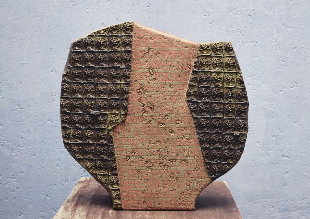 Sacred Geology I-ceramic-33 x 8 x 33 inches