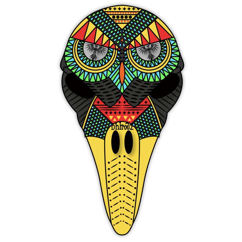 ᎠᏂᏥᏍᏆ (Bird Clan Mask)