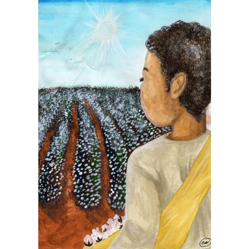 products/candace-dolls-book-illustration-for-scipio-africanus-jones--scipio-in-cotton-field.jpg