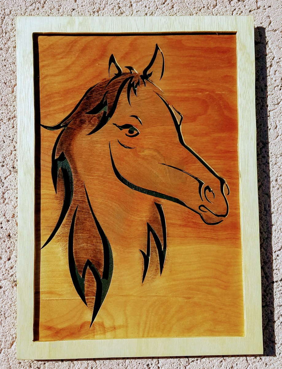 Framed Horse by Albert Soud | Artwork Archive