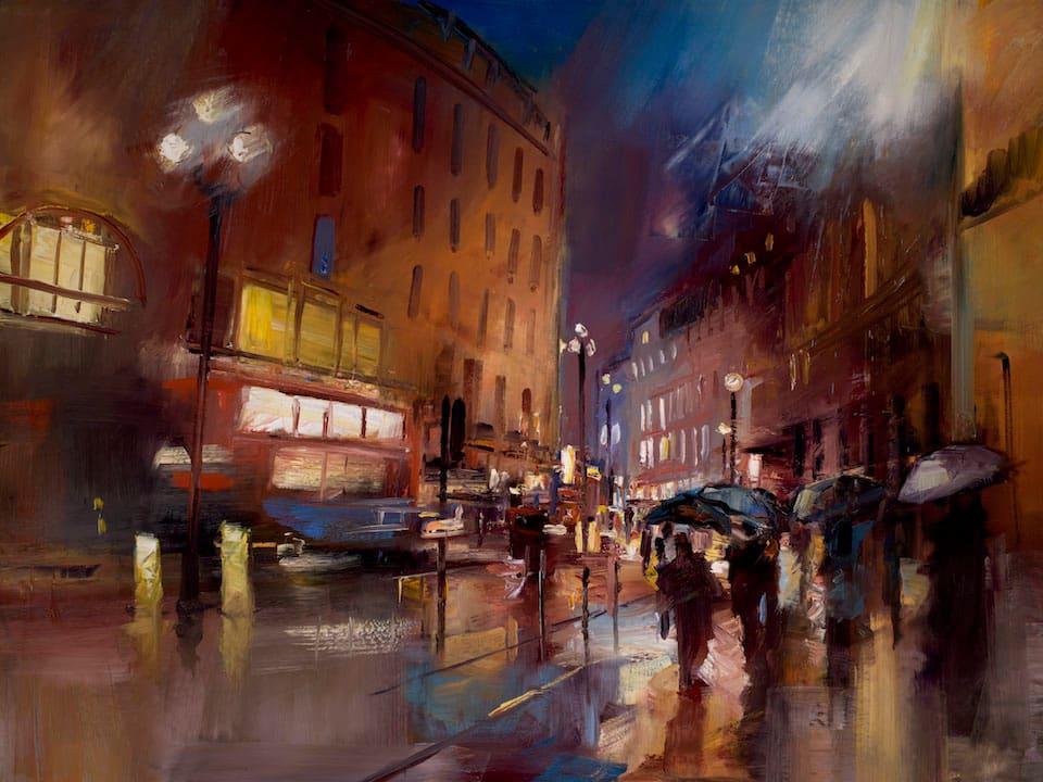 1.Regent Street in the Rain London