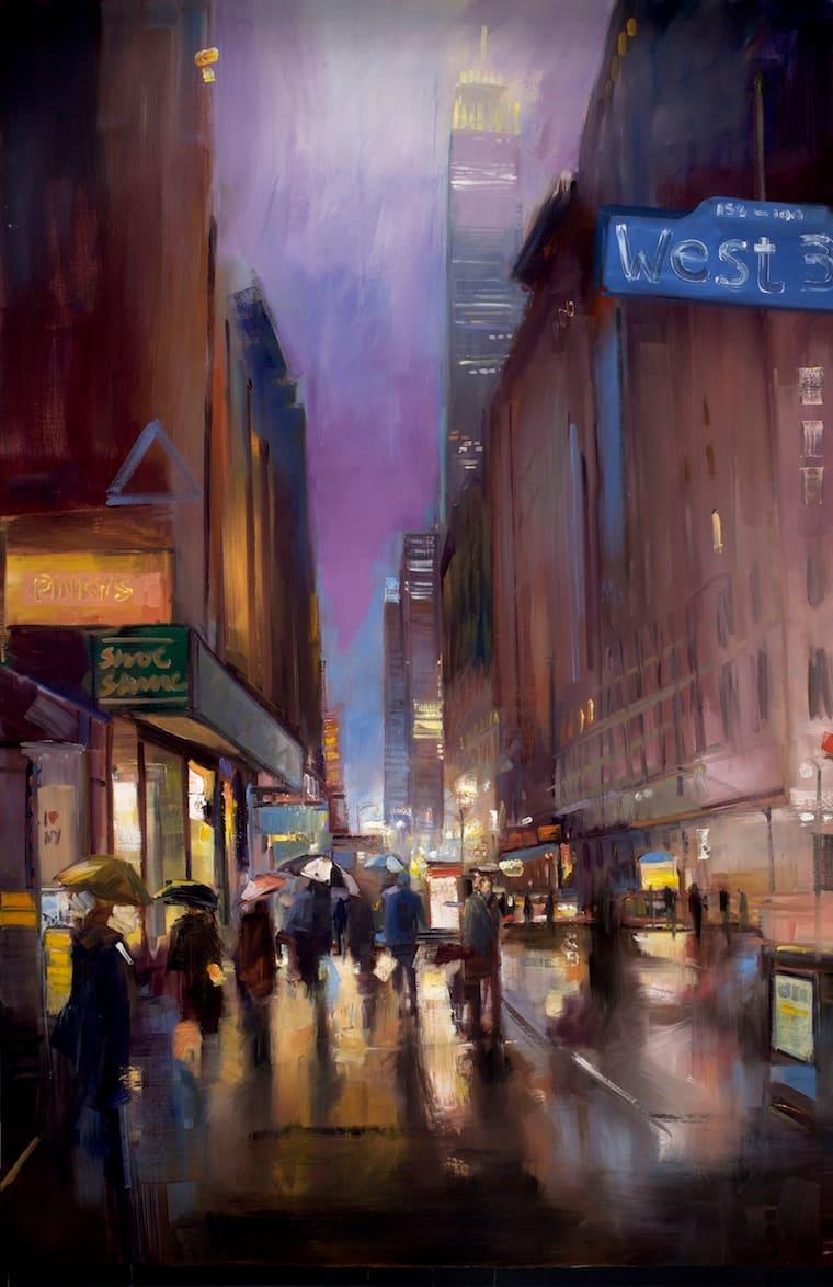 5. Winter Evening on 34th Street NYC