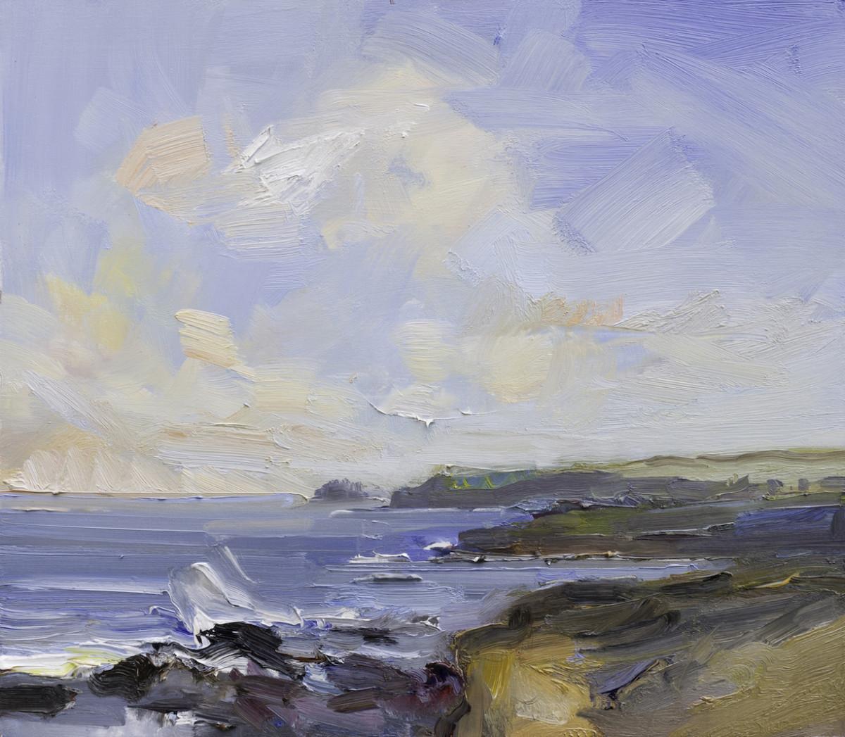 Rocks and Waves, Polzeath. Cornwall