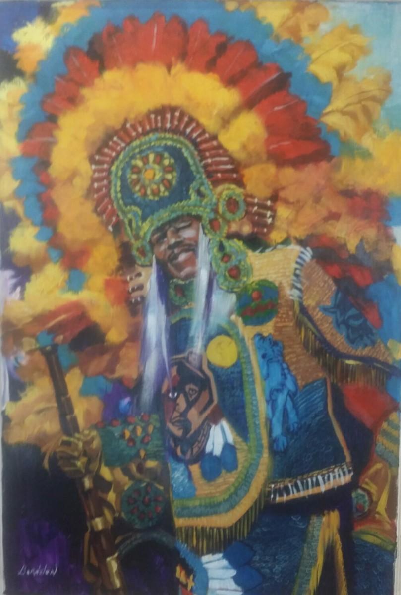 Mardi Grad Indian