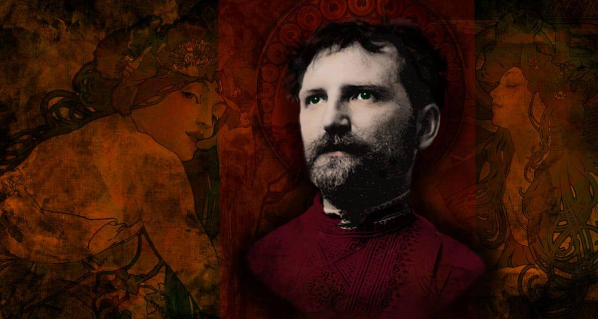 Portrait of Alphonse Mucha