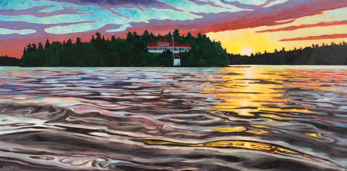 Sunset, Royal Yacht Club, LOTW