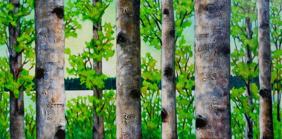 Summer Birches, #3