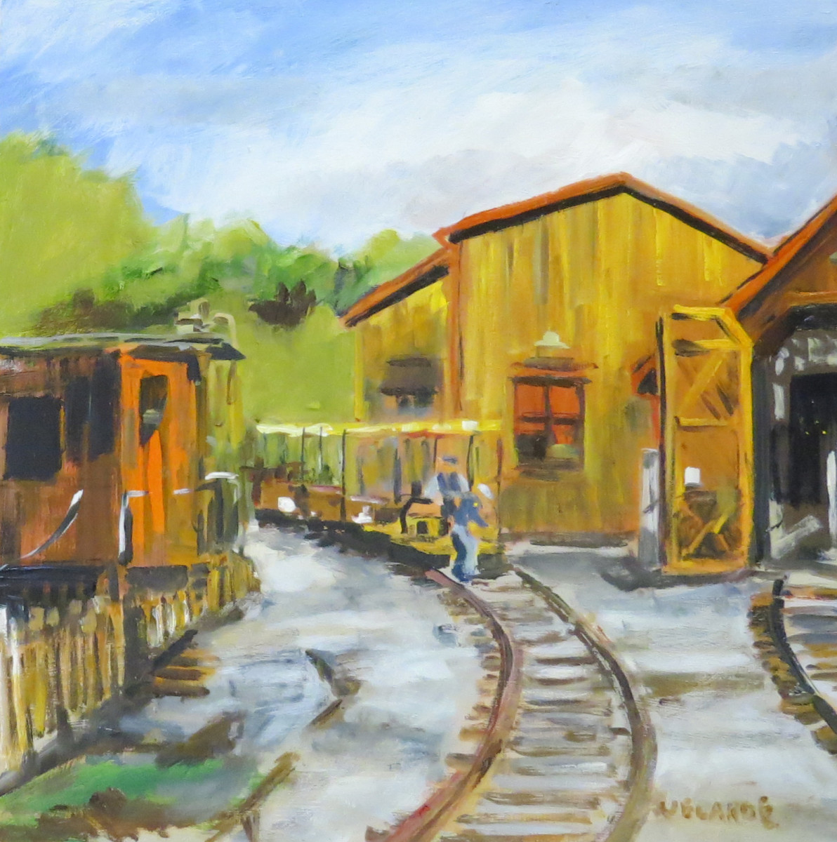 Old Poway Park Train Barn