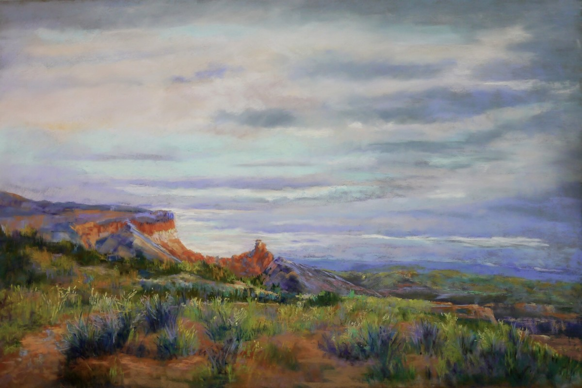Morning Light over Ghost Ranch