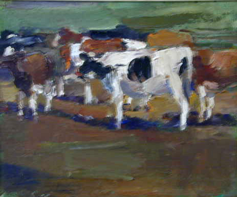 Untitled (Cattle in Landscape)