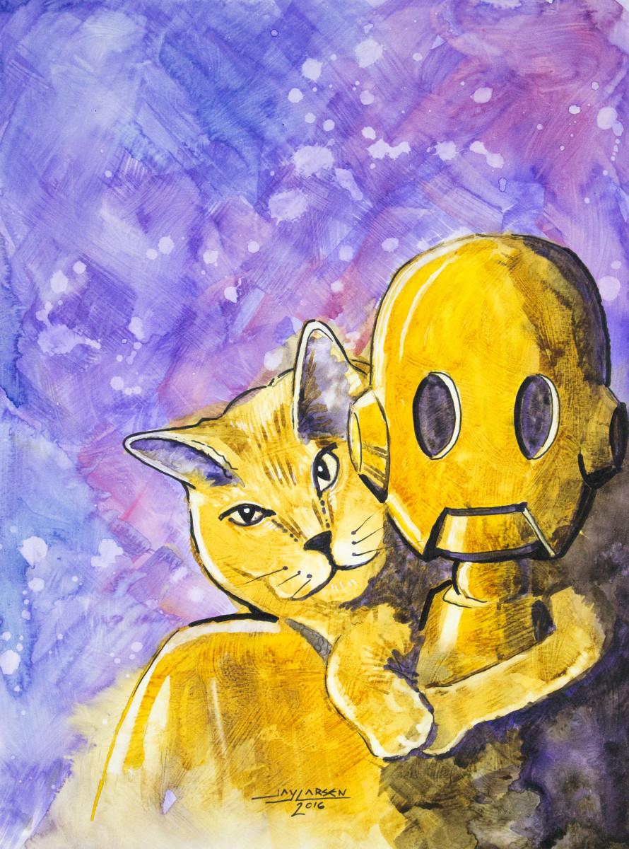 Kitty Hug Robot