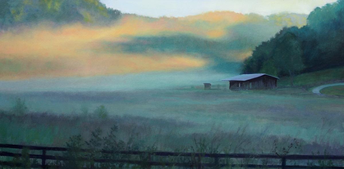 Mists at Sunrise- Franklin, TN