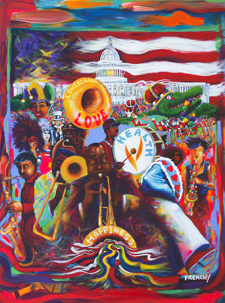 2016 Washington Mardi Gras Poster