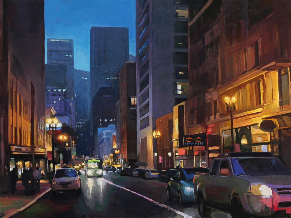 Evening Lights, San Francisco