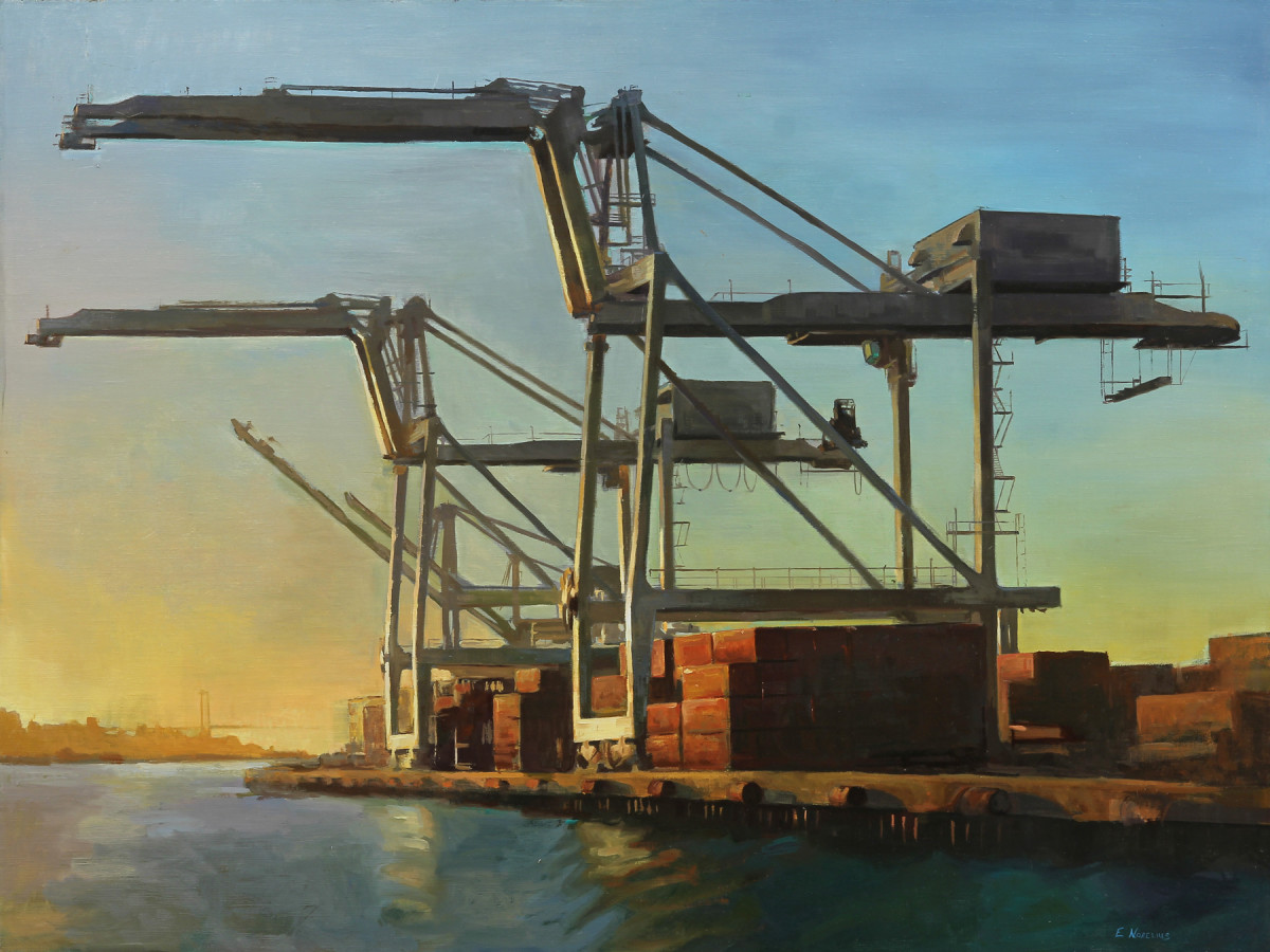 Port of Oakland, Sunset