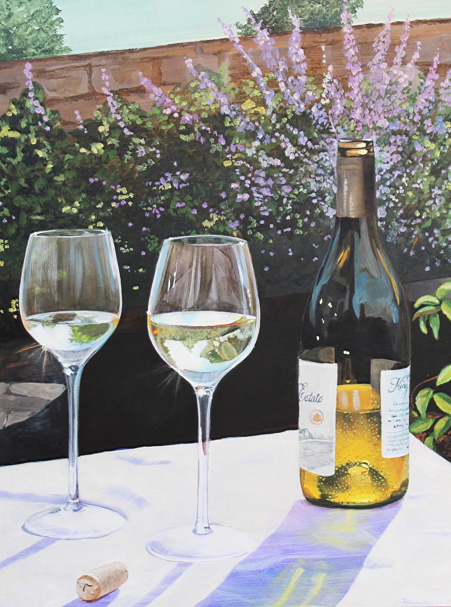 Wine in the Garden