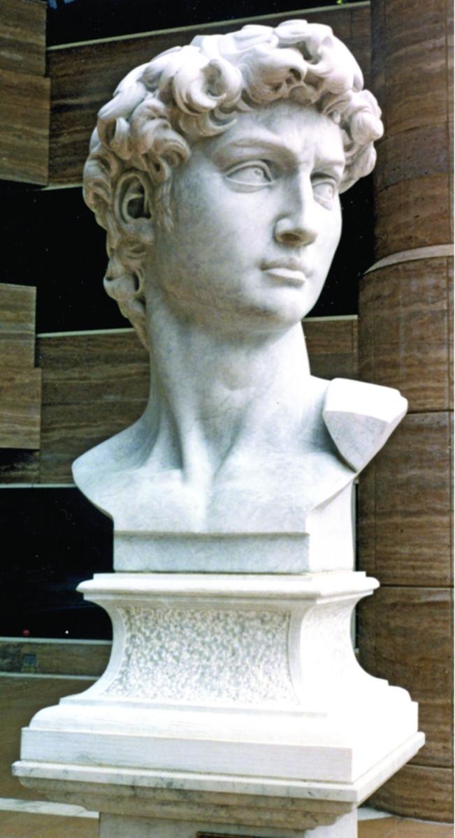 Bust of David